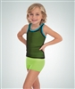 Body Wrappers Girls High Waist Boy-cut Shorts - You Go Girl Dancewear