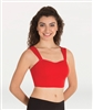 Body Wrappers Girls Pro Wear Camisole Crop Bra  - You Go Girl Dancewear