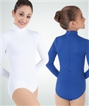 Body Wrappers ProWEAR Adult Zip Back Mock Turtleneck Leotard