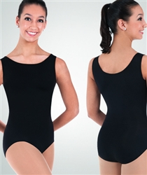 Body Wrappers Adult Boat Neck Leotard