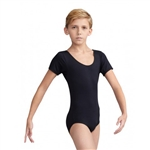 Capezio Boys Tactel Short Sleeve Leotard - You Go Girl Dancewear