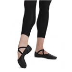Capezio Mens Black Leather Romeo Ballet Shoe- 2020