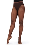 Capezio Plus Size Professional Fishnet Seamless Dance Tight