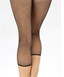 Capezio Crop Studio Fishnet Tight