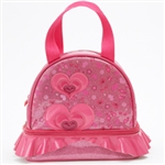 Capezio Heart Glitter Tote Dance Bag - You Go Girl Dancewear