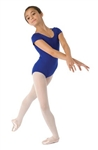 Capezio Cotton Scoop Neck Adult Short-Sleeve Leotard - Style CC400