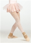 Capezio Girls' Sprinkles Fashion Footless Tights - IM701C