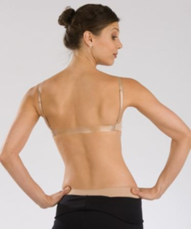 Capezio Replacement Clear Back Bra Strap - You Go Girl Dancewear 31813915a