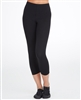 Plus Size Capri Dance Pant, white or black - You Go Girl Dancewear