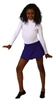 Capezio Turtleneck Nylon Child Long Sleeve Leotard with Snaps - Style TB123C