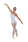 Capezio Nylon Adult Camisole Leotard with adjustable straps - Style TB1420