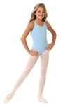 Capezio Cotton High-Neck Child Tank Leotard - CC201C