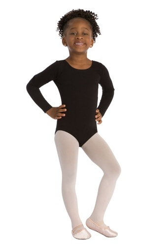 09d69c3d2954 Capezio Cotton Scoop Neck Child Long-Sleeve Leotard - CC450C - You ...