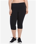 Danskin Plus Size Essentials Seven Inch Bike Short - You Go Girl Dancewear