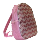 Chevron Sequin Backpack for Dance Class