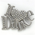 Dasha I Love Dance Pin