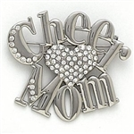 Dasha Cheer Mom Pin