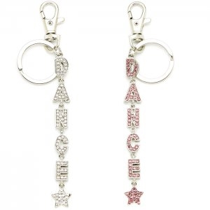 Dasha Dance Word Key Chain