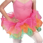 Dasha Three Color Tutu w/ Hair Bow