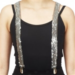 Dasha Sequin Suspenders
