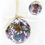 Dasha Set of 2 Blinking Cheer Ornament