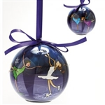 Dasha Set of 2 Blinking Skate Ornament