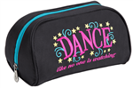 Sassi Designs DLN-60 Dance Like No One is Watching Cosmetic Bag - You Go Girl Dancewear