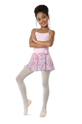 Danshuz Child Flower Chiffon Ballet Skirt - You Go Girl Dancewear