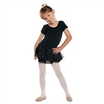 Danshuz Short Sleeve Dress With Hologram Skirt - You Go Girl Dancewear