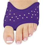 Danshuz Rhinestone Half Soles - Purple - You Go Girl Dancewear