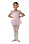 Danshuz Flutter Sleeve Dress - You Go Girl Dancewear