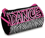 Zebra Dazzle Dance Duffel Bag - You Go Girl Dancewear
