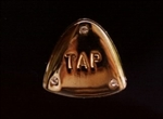 Tap with Rhinestones Pin