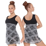 Eurotard Adult Vintage Lace Dance Dress Leotard - You Go Girl Dancewear!