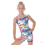 Eurotard Child Crayon Art Gymnastics Biketard - You Go Girl Dancewear!