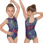 Eurotard Child Disco Leopard Leotard - You Go Girl Dancewear!