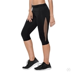 Eurotard Adult Performance Tactel Mesh Capri Legging - You Go Girl Dancewear!