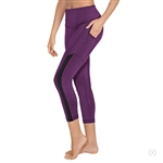 Eurotard Adult Performance Tactel 7/8 Length Legging - You Go Girl Dancewear!