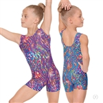 Eurotard Child Under the Sea Gymnastics Biketard - You Go Girl Dancewear!