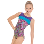 Eurotard Child Dizzy Dots Keyhole Leotard
