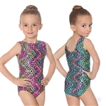 Eurotard Child Dizzy Dots Gymnastics Leotard - You Go Girl Dancewear!