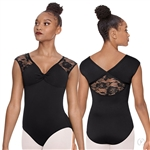 Eurotard Adult Floral Mesh Tank Leotard - You Go Girl Dancewear!