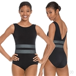 Eurotard Adult Striped Slate Tank Leotard - You Go Girl Dancewear!