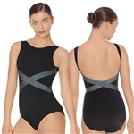 Eurotard Adult Angled Slate Tank Leotard - You Go Girl Dancewear!