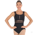 Eurotard Adult Striped Mesh Leotard