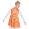 Eurotard Child Heavenly Lace Peplum Tunic