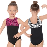 Eurotard Child Zebra Leotard - You Go Girl Dancewear!