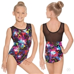 Eurotard Child Graffiti Mesh Leotard - You Go Girl Dancewear!