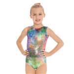 Eurotard Child Metallic Mermaid Leotard