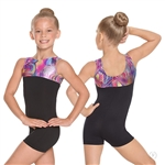 Eurotard Child Celebration Gymnastics Biketard - You Go Girl Dancewear!